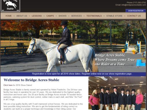 Bridge Acres Stable