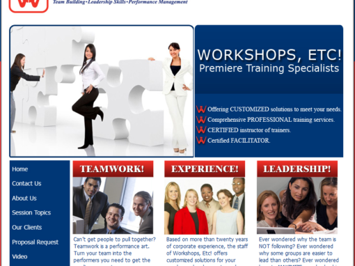 Workshops ETC!, Inc.