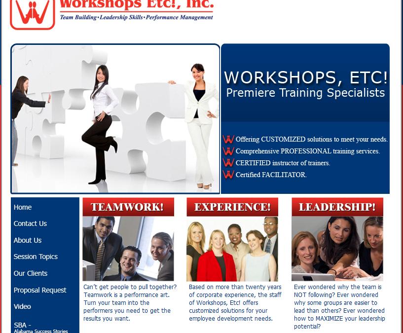 Workshops ETC!, Inc.