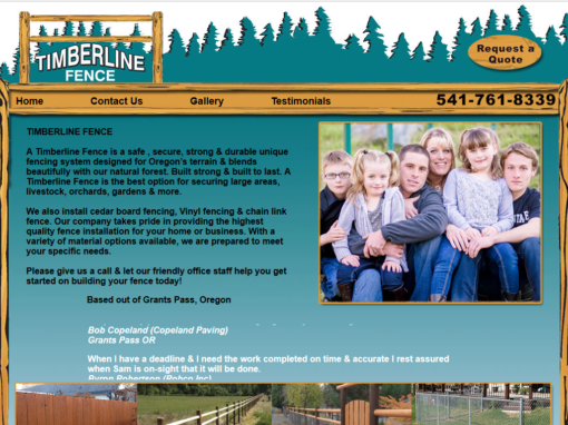 Timberline-Fence