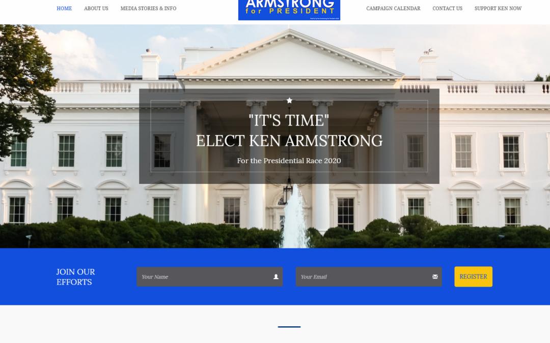 Elect Ken Armstrong